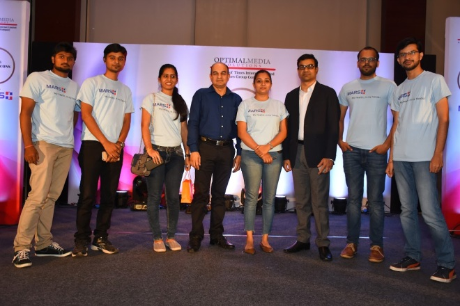 Team Mars Plus at Times Health Icons Pune 2017